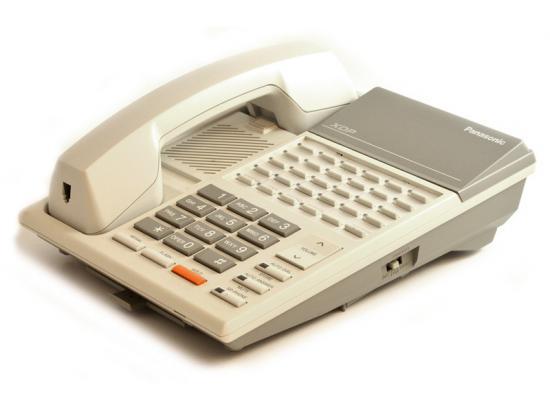 "Panasonic KX-T7220 White 24-Button Digital Speakerphone ""Grade B"""