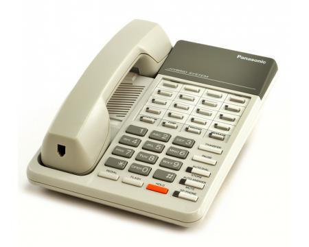 Panasonic Hybrid System KX-T7020 White Speakerphone - Grade A