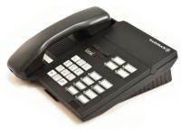 Tadiran Coral DST Digital Standard Telephone 12-Button Black Version 6