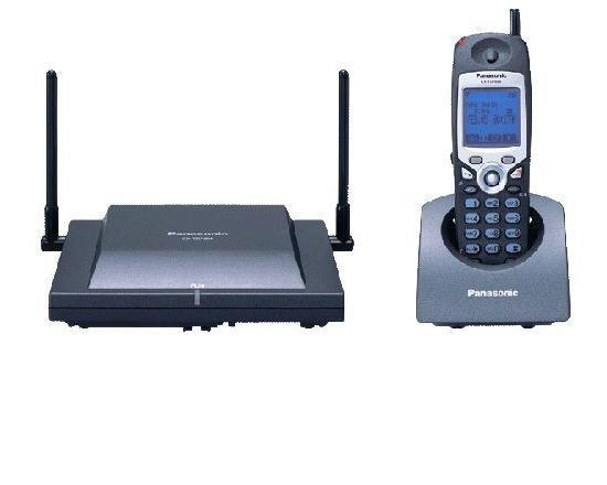 Panasonic KX-TD7896 Cordless Phone (Black)
