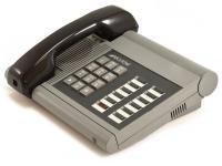 "Executone Isoetec Medley 84300 Gray 12-Button Telephone ""Grade B"""