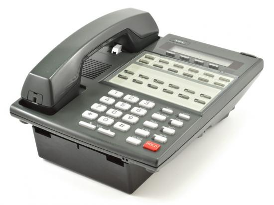 NEC DS1000/2000 22-Button Display Speakerphone (80573) w/ Wall Mount Kit