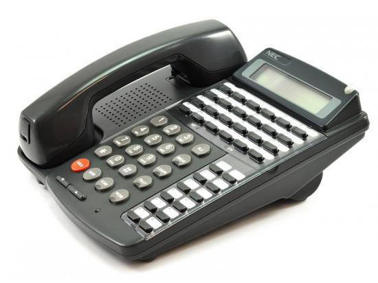 NEC Dterm Series III ETJ-24DA-2 Charcoal Phone Display Speaker 24 Button