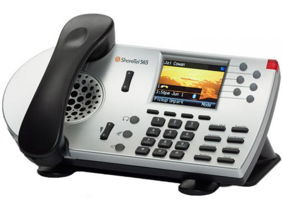 ShoreTel 565G Silver IP Color Display Phone