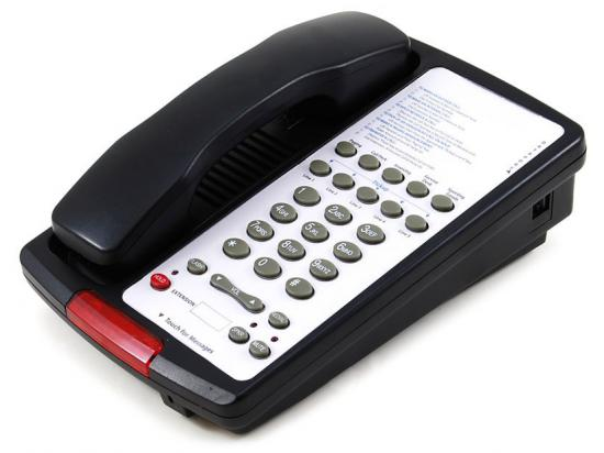 Scitec Black Single-Line Speakerphone (10S-08-BK)