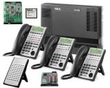 NEC SL1100 PRI Phone System w/ Advanced Voice Mail & 23 Phones *NEW*