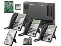 NEC SL1100 PRI Phone System w/ Advanced Voice Mail & 23 Phones