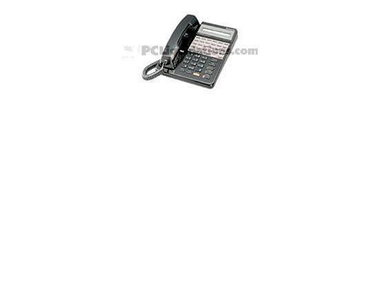"Panasonic KX-T7135B Black Phone with Backlit LCD Display ""Grade B"""