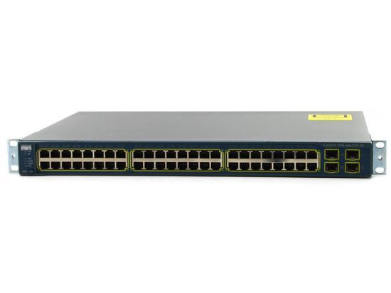 Cisco Catalyst 3560 WS-C3560-48PS-S 48-Port 10/100 PoE Switch