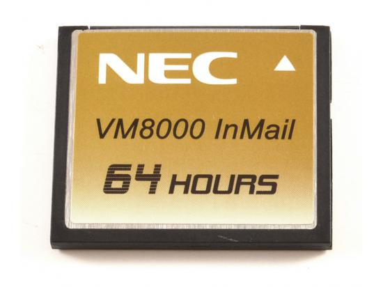 NEC Univerge VM8000 InMail 64 Hour CompactFlash Card 670966