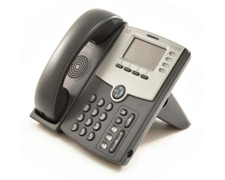 Cisco SPA504G Charcoal IP Display Speakerphone - Grade A