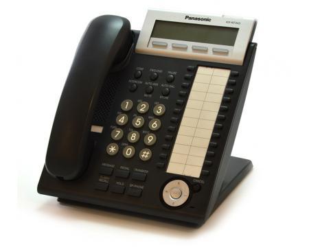 Panasonic KX-NT343-B Black Backlit Display VoIP Phone