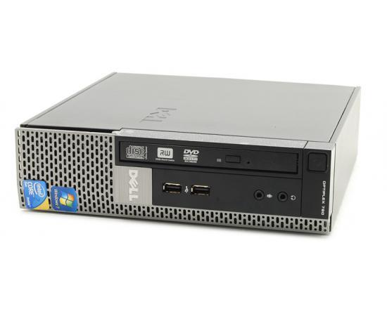 Dell OptiPlex 780 USFF Desktop Intel Core 2 Duo (E7500) 2.93GHz 4GB DDR3 250GB HDD - Grade A