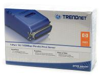 Trendnet TE100-P1P 1-Port Parallel Print Server New