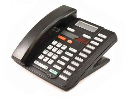 Nortel Aastra M9316 Single Line Phone Black (NT2N31)