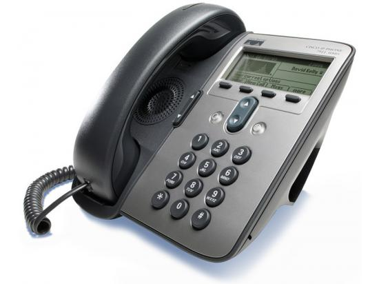 Cisco CP-7911G Charcoal Silver IP Display Phone - Grade A