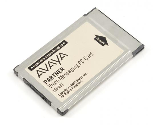 Avaya Partner Small Voice Messaging PC Card Voicemail R3.0 (700226517, 700429384)