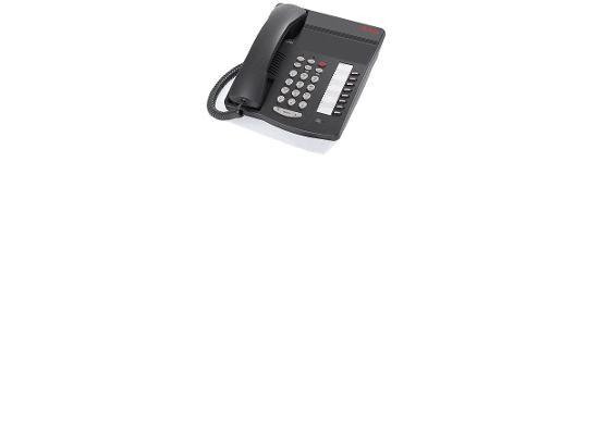 Avaya 6408+ Non-Display Phone Black
