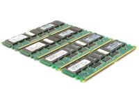 HP 1GB DDR PC1600 CL2 ECC Memory Lot of 4, 4 GB Total 175919-042