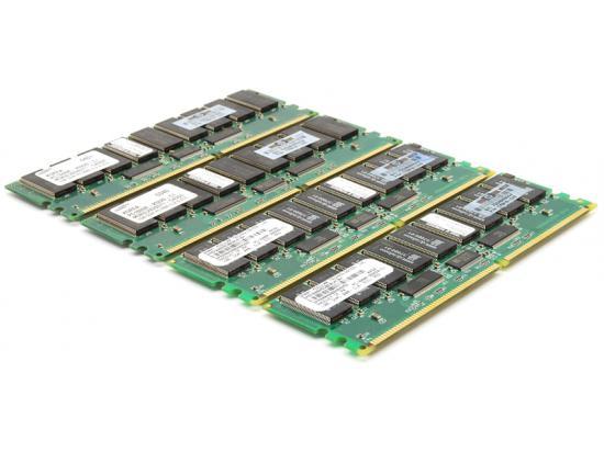 HP 1GB DDR PC1600 CL2 ECC Memory Lot of 4, 4 GB Total 175919-042