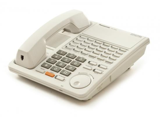"Panasonic Digital Super Hybrid KX-T7425 24-Button White Non-Display Speakerphone ""Grade B"""