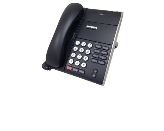 NEC DT710 Univerge ITL-2E-1 2 Button Non Display IP Phone Black (690000)