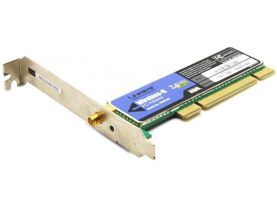 Linksys WMP54G Wireless-G PCI Card Network Adapter