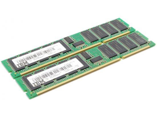 IBM 53P3226 512MB 100MHZ PC-100 208-PIN 8NS DDR SDRAM DIMM ECC REGISTERED (lot of 2) 1GB