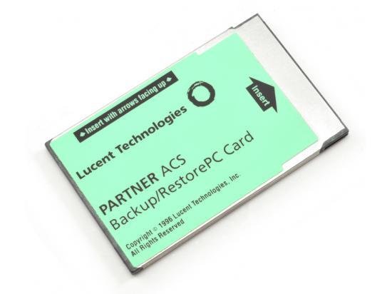 Avaya Partner ACS Backup & Restore Card