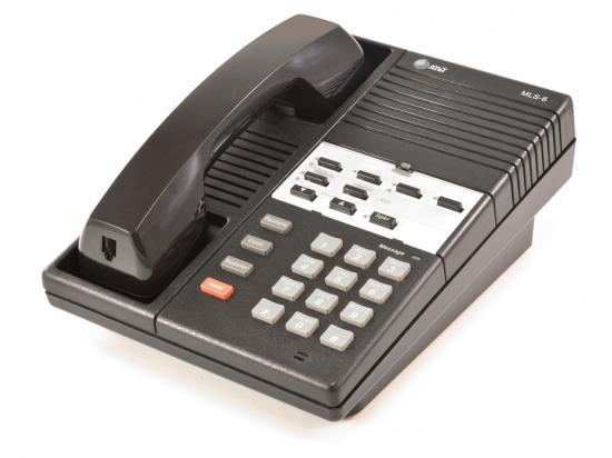 Avaya MLS-6 Black Phone