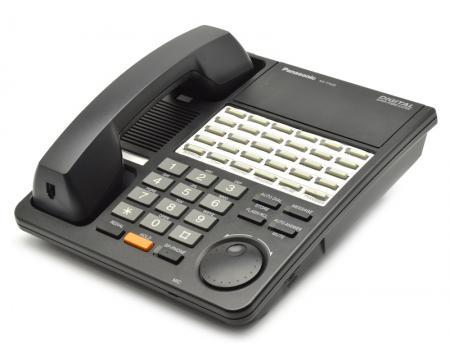 Panasonic KX-T7425 24-Button Black Non-Display Speakerphone