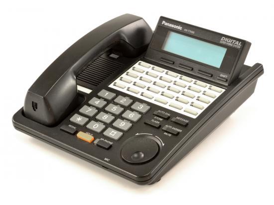 Panasonic KX-T7433 Black Display Phone - Grade A