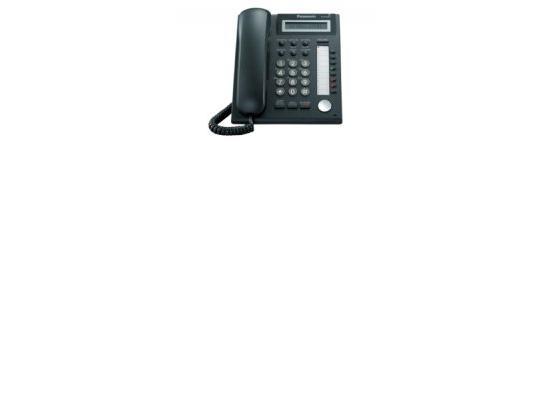 Panasonic KX-DT321-B Charcoal Basic Display Phone