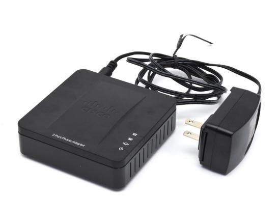 Cisco SPA-122 ATA Analog Adapter w/ LAN