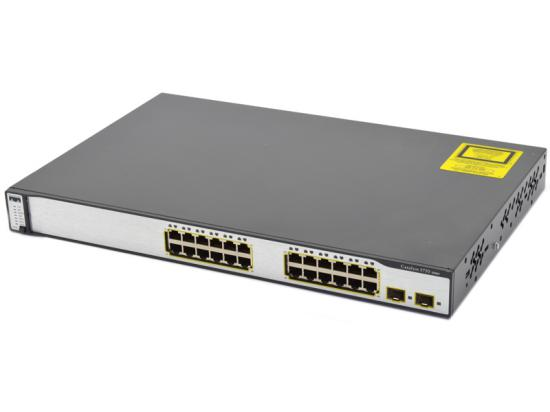 Cisco Catalyst WS-C3750-24TS 24-Port 10/100 Managed Switch