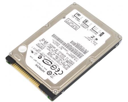 Hitachi 60GB 5400 RPM 25 IDE Hard Disc Drive HDD HTS541660J9AT00