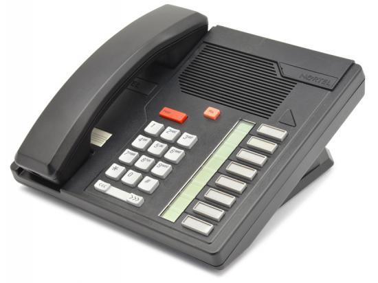 Nortel Meridian M5008 Black Business Phone (NT4X40)