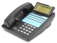 """Iwatsu ADIX Omega IX-12KTD-2 Black Display Speakerphone (104203) """"Grade B"""""""