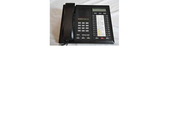 Hitachi SelecSet 700 7424S-GT Black 24-Button Display Speakerphone