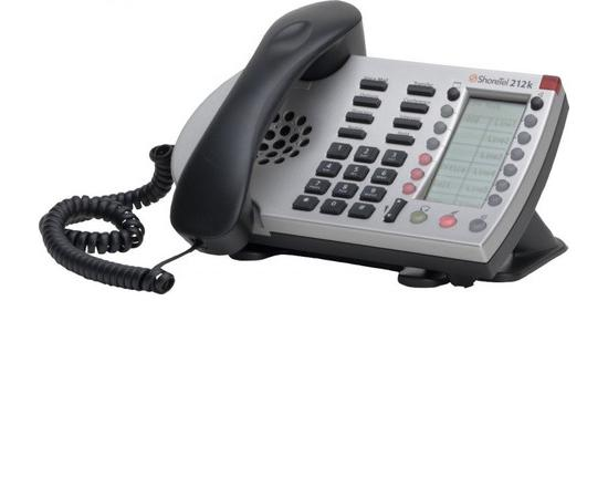 ShoreTel 212k Silver IP Phone