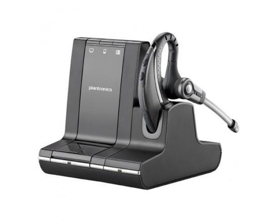 Plantronics Savi W730 Over-the-Ear Wireless Headset for UC