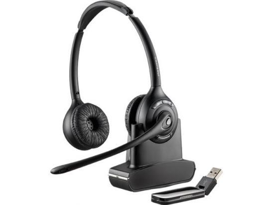 Plantronics Savi W420 Over the Head Binaural DECT Headset