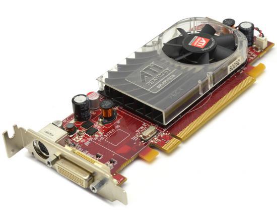 AMD ATI Radeon HD2400 XT 256MB PCI-E x16 Low Profile Video Card