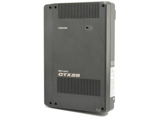 Toshiba Strata CTX28 3x8 Digital Telephone System w/ GCTU1