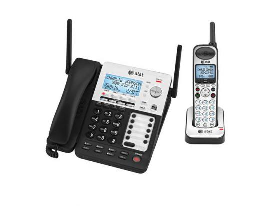 AT&T SynJ 4-Line Corded/Cordless Small Business Phone System