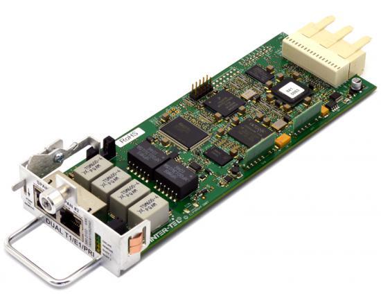 Inter-tel Mitel 5000 Dual T1/E1 PRI Digital Line Card (580.2702)