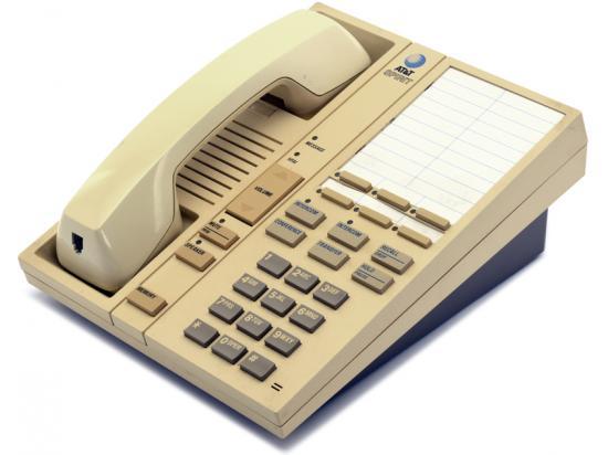 """Avaya Spirit 6 Cream Phone Speakerphone """"Grade B"""""""