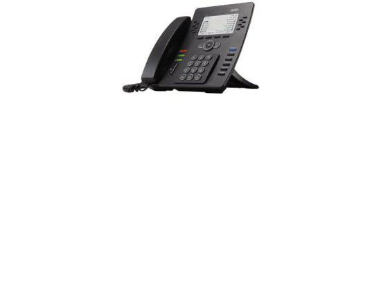 Adtran IP712 12-Button Black IP Display Speakerphone