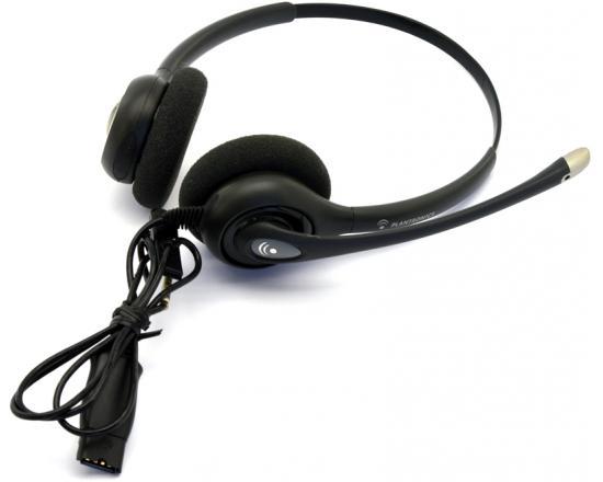 Plantronics SupraPlus HW261N Binaural Noise-Cancelling Headset - Grade A