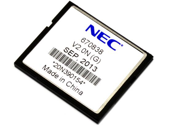 NEC Univerge SV8100 PVA CNF Conferencing App Compact Flash Card (670838)